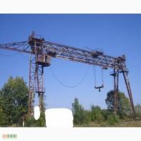 Продаем козловой кран специальный с электроталью КС-50-42Б, г/п 50 тонн, 1983 г.в