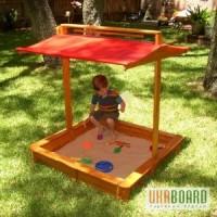 Песочница с крышкой, детская песочница