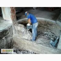 Демонтаж зданий, домов, стен, дорожного покрытия