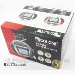 Магнитофон с микрофоном Golon RX-656QI, бумбокс + караоке Галон