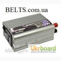 Инвертор 500 Ватт, преобразователь напряжения Power Inverter 500 W, стабилизатор