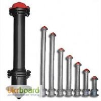 Пожарные гидранты ГОСТ 8220 стальные/чугунные, подставки, любая длина