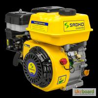 Двигатель бензиновый Sadko (Садко) GE-200 PRO (фильтр в масл. ванне). Оригинал. Гарантия