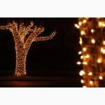 Световая нить(String-Light), светящиеся гирлянды, праздничная подсветка