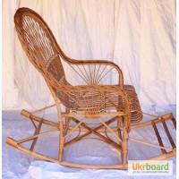 Кресло качалка из лозы, Крсло Качалка С Косой