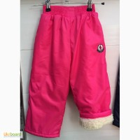 Детские штаны плащевка на овчине Moncler оптом
