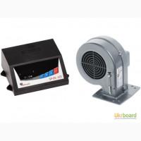 Вентилятор та автоматика для твердопаливного котла Kg Elektronik SP-05 LED+DP-02