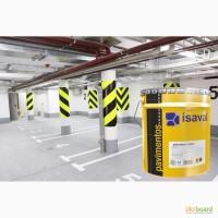 Краска двухкомпонентная ISAVAL Дуэполь Полиуретан 4л -для бетонных и цементных полов
