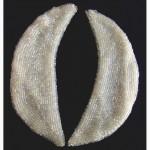Продам винтажный женский воротник шитый белым бисером