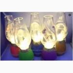 Лампа свеча с внутренним аккумулятором Ночник Волшебная керосинка