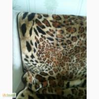 Плед леопардовый