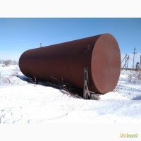Цистерна, резервуар, емкость, бочка металлическая б/у 75 кубов