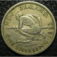 Новая Зеландия 1 шиллинг 1952 год