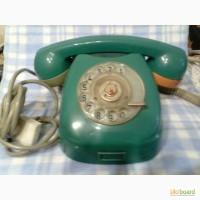 Телефон стационарный дисковый