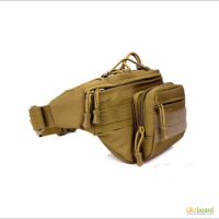Поясная сумка олива/койот