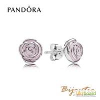 Оригинал серьги PANDORA розы ― 290554EN40