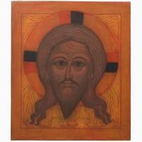 Продам рукописную православную икону «Спас Нерукотворный» (список с иконы начала XVI века)