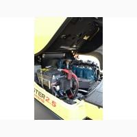 Газовый погрузчик Hyster H2.50FT, двигатель Kubota, 2016 года, кабина