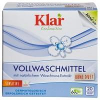 Универсальный органический стиральный порошок KLAR(Германия)