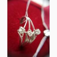 Кольцо с бриллиантами 0.20 карата