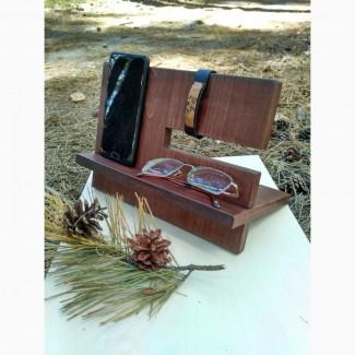 Деревянная подставка-органайзер, на подарок