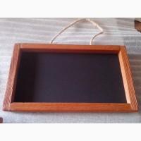 Ценник грифельный, меловой, бирка деревянная, для письма мелом, тег меловой