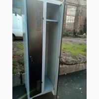 Шкаф для спецодежды бу. Металлический шкаф для одежды б/у