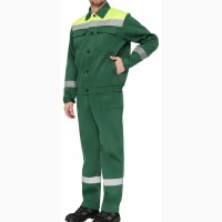 Рабочий костюм Мастер люкс, зеленый
