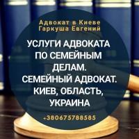 Адвокат по семейным спорам Киев