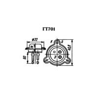 Отечественные биполярные транзисторы средней и большой мощности КТ601 - П702 - ГТ906