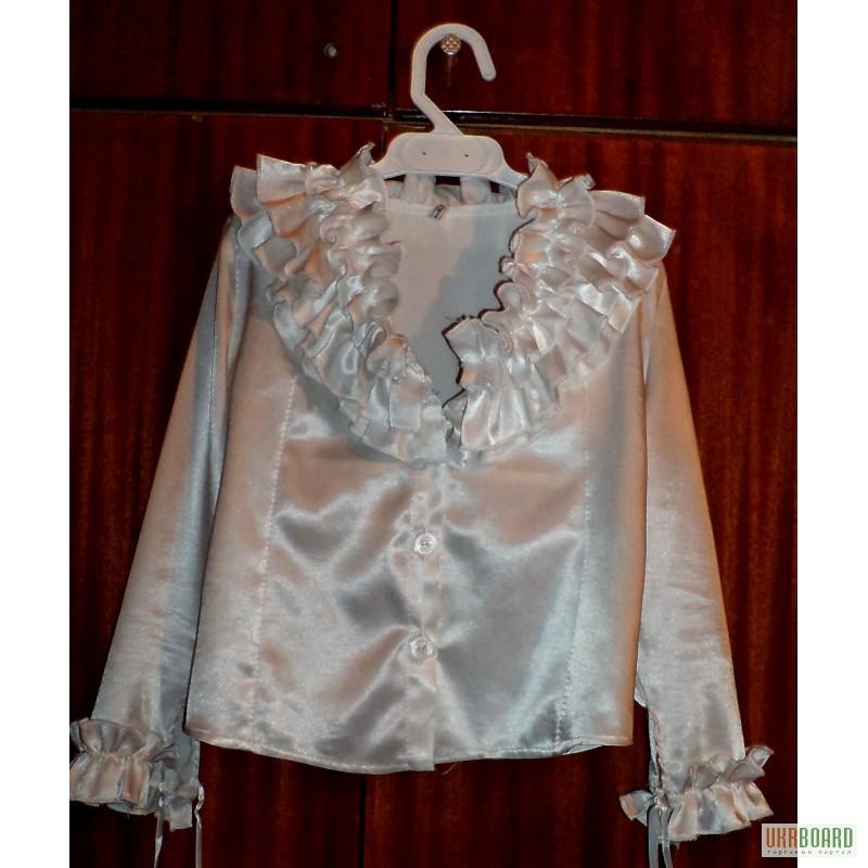 Купить Блузку Для Девочки На 1 Сентября
