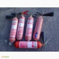 Огнетушитель углекислотный ОУ3 и ОУ5 б/у