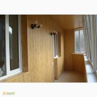Обшивка балкона снаружи и внутри Кривой Рог цена