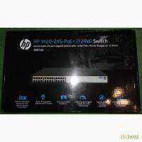 Продам коммутатор HP 1420-24G-PoE+ (124 Вт) (JH019A)