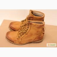 Ботинки Timberland светло-коричневые Кожа Лёгкие