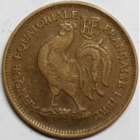 Экваториальная Африка 50 центов 1943 год