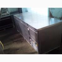 Стіл холодильний виробничий б/у 2, 1м 3 двері + 1 ящик для кафе, ресторана