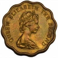 Британ. Гон-Конг, 20 центов 1979 год СОСТОЯНИЕ