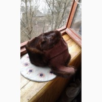 Шапка мужская из ондатры размер 58-59 б/у в хорошем состоянии