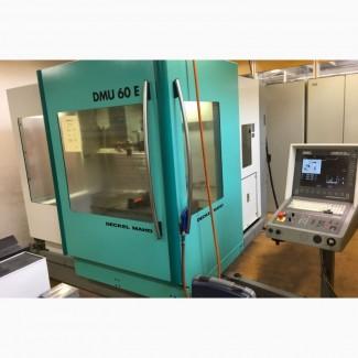 Вертикальный обрабатывающий центр DECKEL MAHO DMU 60 E Mach4metal