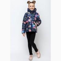 Демисезонная куртка для девочки vkd-4 110-140 р