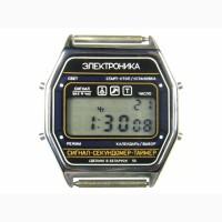 Часы ЭЛЕКТРОНИКА ЧН-55 с ЦНХ 5 мелодий арт.1175