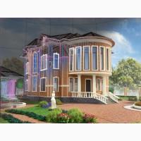 Архитектурная 3d визуализация, дизайн фасада
