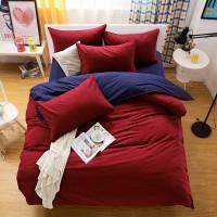 Комплект постельного белья, сатин-элит однотонный