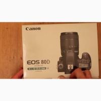Canon EOS 80D цифровая зеркальная фотокамера с 18-135мм объектив