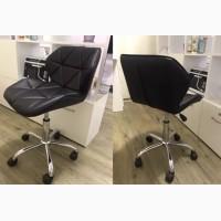 Стул офисный Стар офисны стул Стар на колесиках белый черный