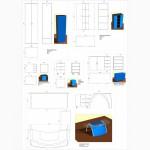 Чертежи, 3D модели, визуализация, планы помещений, развертки стен.