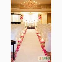 Декор для выездной церемонии, садебные арки, дорожки, столик для росписи, ...
