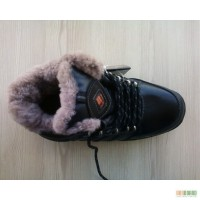 Ботинки зимние мужские на цигейке.