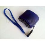 Портативное ручное экстренное зарядное динамо с USB и фонариком